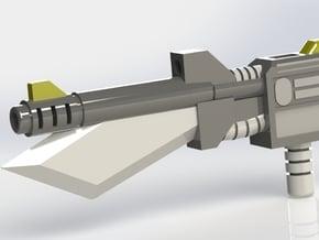 Transformers  Atom-Smashing Submachine Gun in Black Natural Versatile Plastic