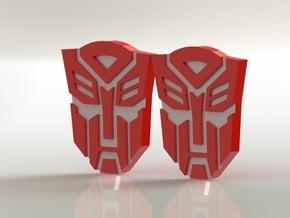 Masterpiece MP-10 Shoulder Symbols in Smooth Fine Detail Plastic