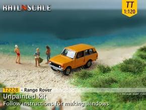 Range Rover (TT 1:120) in Smooth Fine Detail Plastic