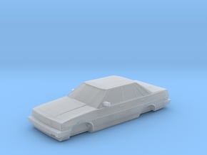 HO Scale 1985-1988 Toyota Cressida in Smooth Fine Detail Plastic