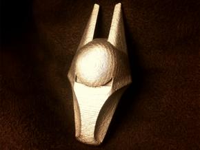 Black Hound Badge in Polished Bronzed Silver Steel