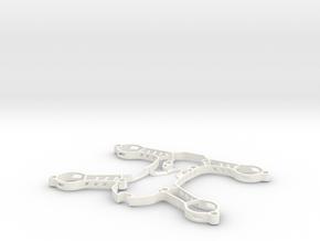 Sigan180 3D Print Parts in White Processed Versatile Plastic