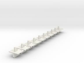 10xWireGuide_race in White Natural Versatile Plastic