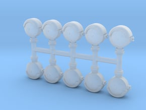 Grade Crossing Bell (N - 1:160) 10X in Smoothest Fine Detail Plastic
