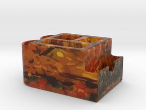 Multipurpose Card Name Desktop Full Color 3D Print in Full Color Sandstone