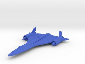 SR-71 Ornament in Blue Processed Versatile Plastic