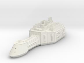 ZD302 Zakzûl Heavy Carrier in White Natural Versatile Plastic