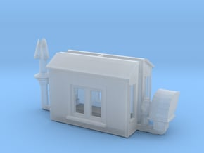 NAR Caboose Parts HO Scale in Smooth Fine Detail Plastic