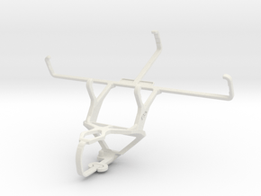 Controller mount for PS3 & PS Vita (PCH-1000) in White Natural Versatile Plastic
