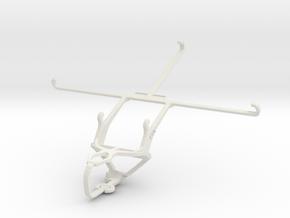 Controller mount for PS3 & Alcatel Hero 8 in White Natural Versatile Plastic