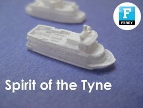 Shields Ferries (1:1200) in Smooth Fine Detail Plastic