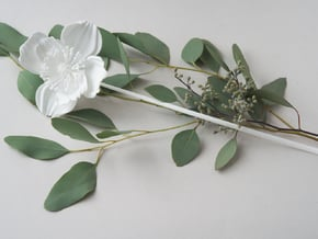 Poppy No. 1  in White Natural Versatile Plastic