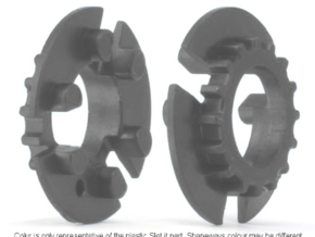 S99-S03_18 18 tooth pulley for 4WD system in Smooth Fine Detail Plastic