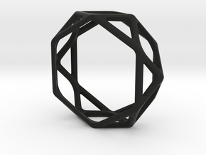 Structural Ring size 12,5 in Black Natural Versatile Plastic