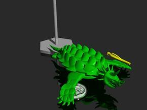 Regitorax - Fleetscale Turtle Kaiju in White Natural Versatile Plastic