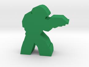 Game Piece, Space Command Shocktrooper in Green Processed Versatile Plastic