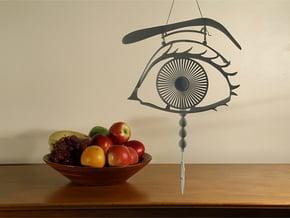 """Optical Art - """"Aurora Memoria"""" in White Natural Versatile Plastic"""
