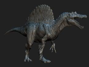 Spinosaurus 1/72 DeCoster in White Natural Versatile Plastic