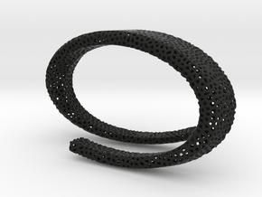 SCHIK BRACCIAL  in Black Natural Versatile Plastic