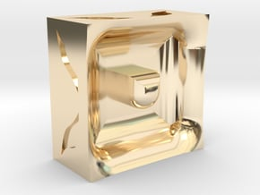 Reality in 14K Yellow Gold