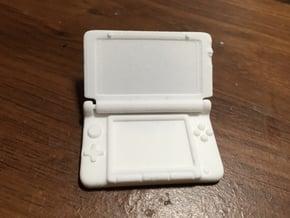 Mini Nintendo 3dsXL: 1/4 Scale in White Natural Versatile Plastic