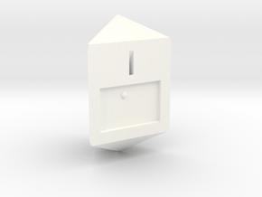 Braille D3 in White Processed Versatile Plastic