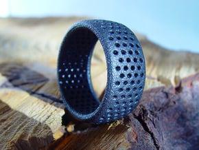 Light Ring in Matte Black Steel
