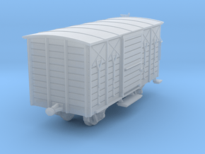 NTM-WM01 Freight wagon Nm in Smooth Fine Detail Plastic