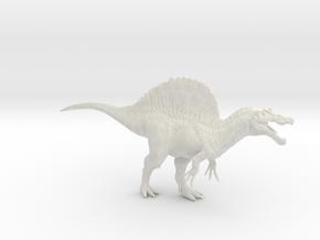 Spinosaurus 1/144th Scale DeCoster in White Natural Versatile Plastic