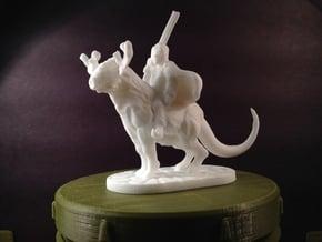 Taiga Strider (28mm/Heroic scale miniature) in White Processed Versatile Plastic
