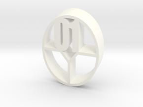324get : 01 in White Processed Versatile Plastic