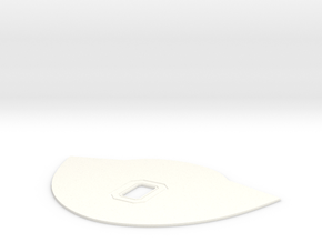 Block O Drip Plate for Keurig B50 B60 in White Processed Versatile Plastic