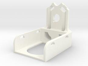 Xr4 Antenna Mount in White Processed Versatile Plastic