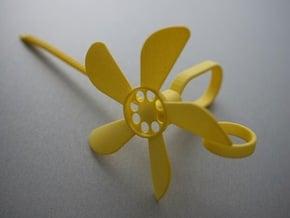 Finger Flyer in Yellow Processed Versatile Plastic