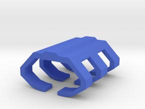 Game Piece, Space Shipyard in Blue Processed Versatile Plastic