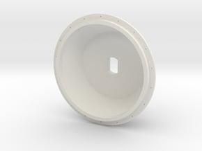1/16 E-100 Drive Wheel Part 2 in White Natural Versatile Plastic