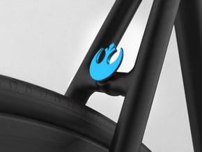 NEW! Rebels NUT, for M6 x1 Screw in Blue Processed Versatile Plastic