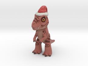 T. Rex Christmas in Full Color Sandstone