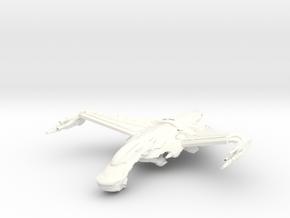 Dorval Class HvyDestroyer in White Processed Versatile Plastic