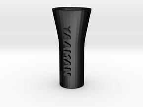 YAAMAN Pipe Bong Hybrid in Matte Black Steel
