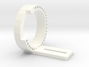 Lens holder Tamron 70-300 VC USD in White Processed Versatile Plastic