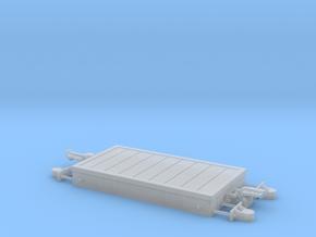 1:24 Heywood Platform Wagon w/ Heavy Axleboxes in Smooth Fine Detail Plastic