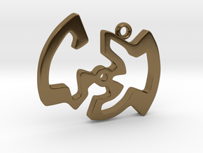 Labyrinth Series #1 in Polished Bronze