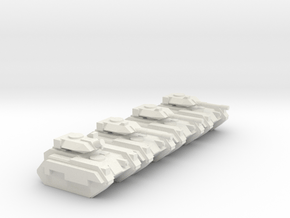 [5] Armored Recce Platoon in White Natural Versatile Plastic