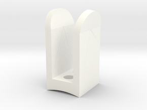 MHS Compatible Bunny Ears  in White Processed Versatile Plastic