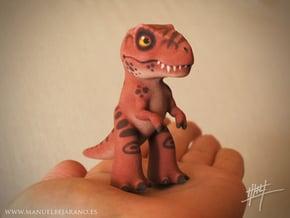 T. Rex in Full Color Sandstone