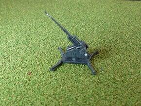 German Single 12,8 cm Flak 40 1/285 in Smooth Fine Detail Plastic