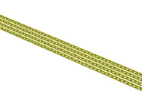 2220mm long chain with 1154 links 0.5mm thick in Smooth Fine Detail Plastic