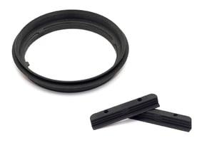 Adapter Kit I M.Zuiko 7-14mm / Lee filter holder in Black Natural Versatile Plastic