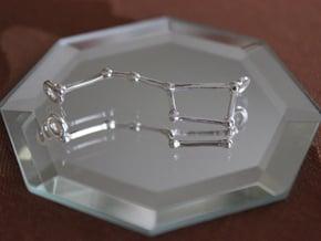 Ursa Pendant in Polished Silver
